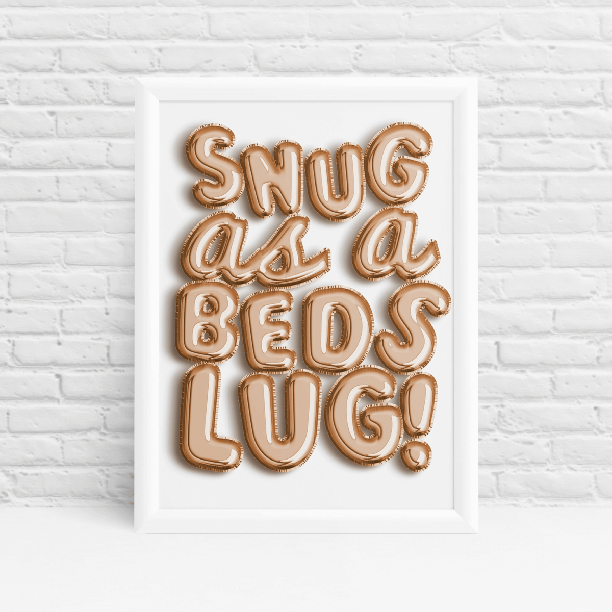 Helium balloon print ideal dorm wall art and bedroom decor by Ibbleobble®