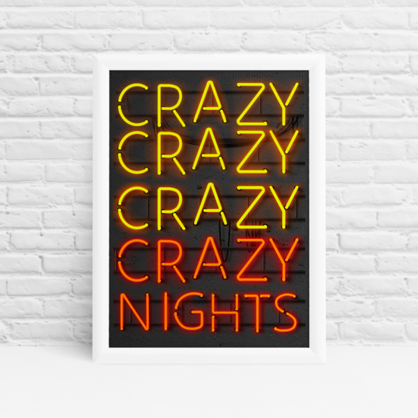 Crazy Nights Original Wall Art