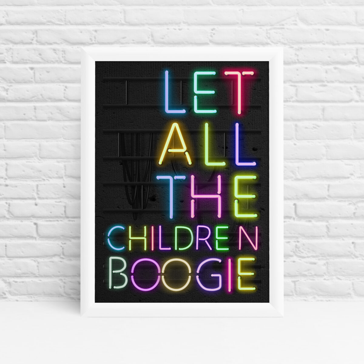 Bowie wall art bedroom print by Ibbleobble®